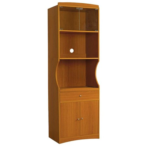 Microwave Cabinet Cherry - Home Source - image 1 of 2