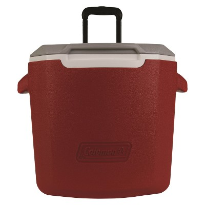 Coleman® 28qt C-Tec Performance Wheeled Cooler - Red