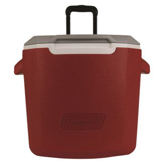 Coleman 28qt C-Tec Performance Wheeled Cooler - Red