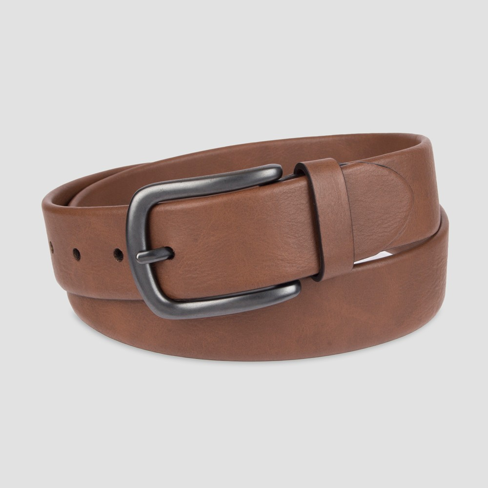 Image of DENIZEN from Levi's Men's 38MM Stretch With Tab Belt - Brown XL, Men's
