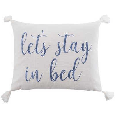 Bennett Stay in Bed Decorative Pillow - Villa Lugano by Levtex Home