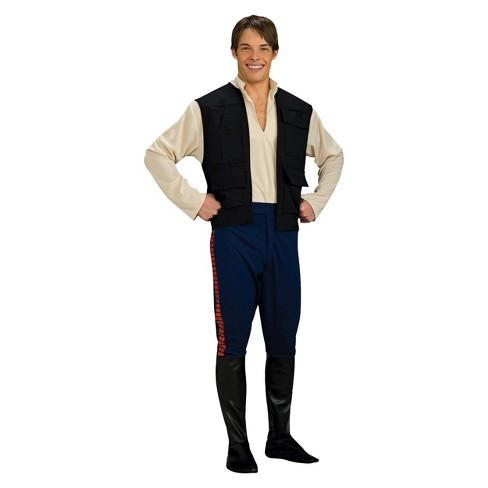 333d37c290d3 Star Wars Men s  Han Solo Costume One Size   Target