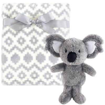 Hudson Baby Unisex Baby Plush Blanket with Toy - Snuggly Koala