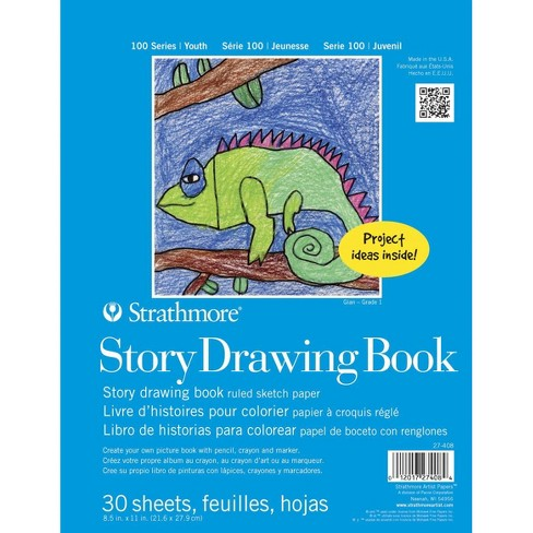 Strathmore Kids Story Drawing Book, 8-1/2 x 11 Inches, 30 Sheets - image 1 of 1