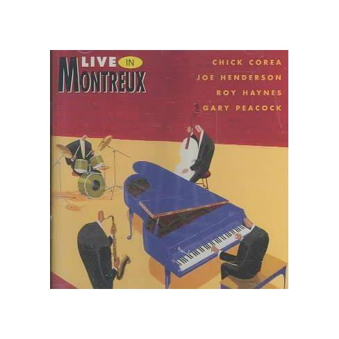 Chick Corea - Live in Montreux (CD) - image 1 of 1