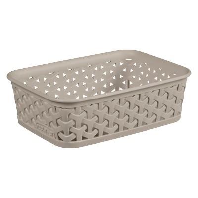 Cube Storage Box Beige - Room Essentials™
