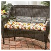 Esprit Floral Outdoor Swing and Bench Cushion - Kensington Garden - image 2 of 4