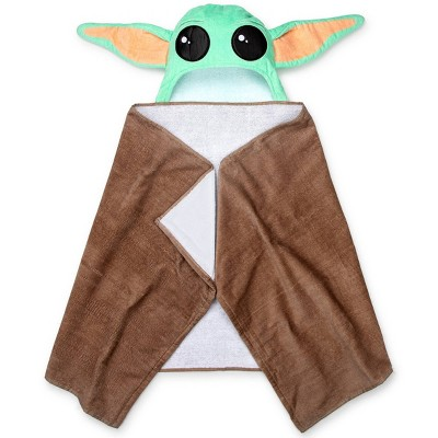 Star Wars: The Mandalorian The Child Hooded Towel