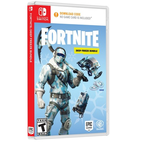 Fortnite Deep Freeze Bundle Nintendo Switch Target