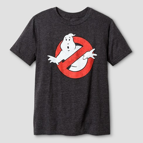 Boys' Ghostbusters Short Sleeve T-Shirt - Charcoal Heather - image 1 of 1