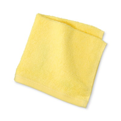 Solid Washcloth Gold Beam - Room Essentials™