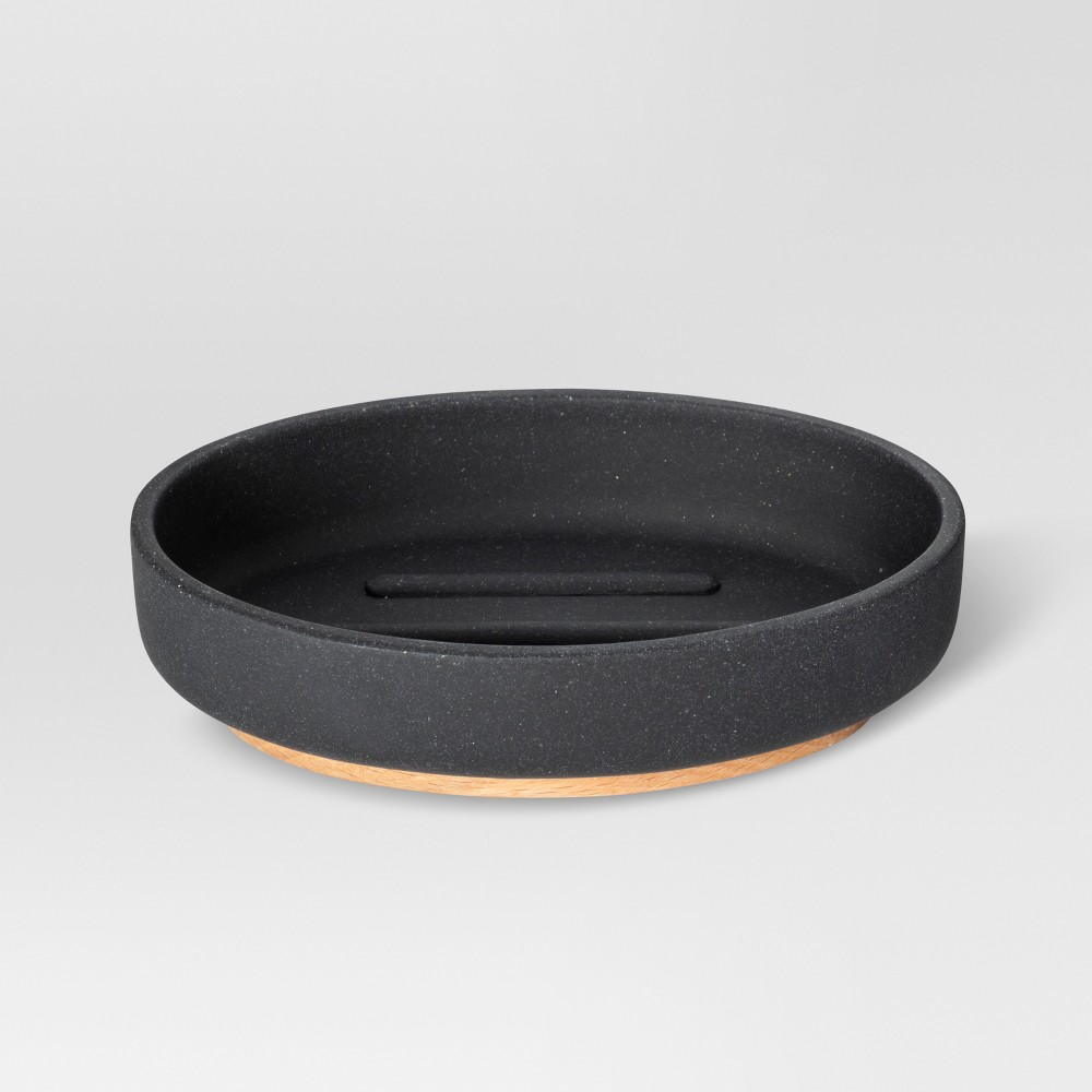 Sandstone Soap Dish Black - Project 62