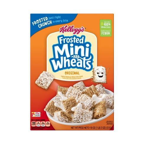 Original Frosted Mini-Wheats Breakfast