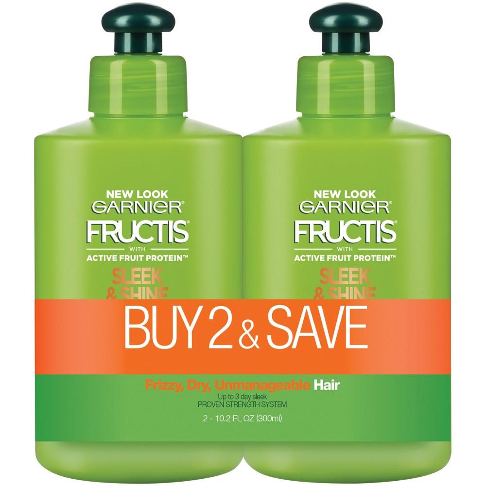 Garnier Fructis Active Fruit Protein Sleek & Shine Hair Treatment Set - 10.2 fl oz