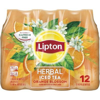 Lipton Herbals Orange Blossom Tea - 12pk/16.9 fl oz Bottles