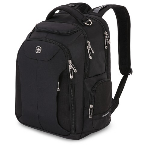 "SwissGear® 17"" Scan Smart TSA Laptop Business Backpack - Black - image 1 of 5"
