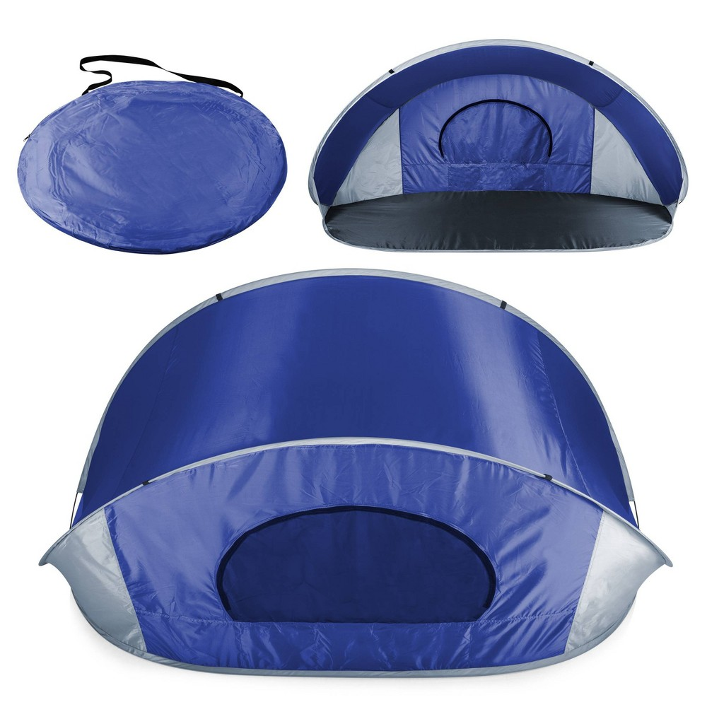 Image of Picnic Time Manta Sun Shelter - Blue