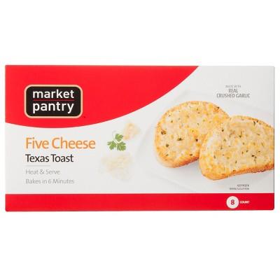 Five Cheese Frozen Texas Toast - 13oz/8ct - Market Pantry™