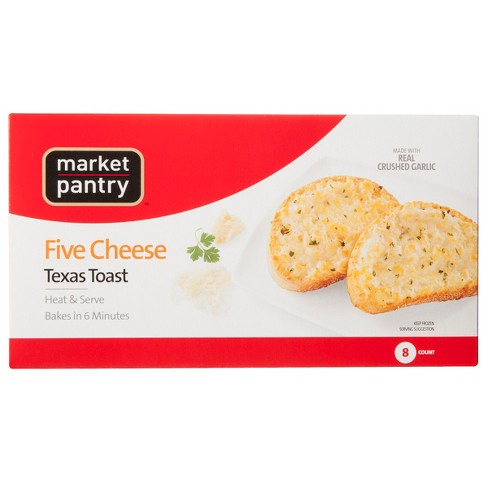Five Cheese Frozen Texas Toast - 8pk - Market Pantry™ - image 1 of 1