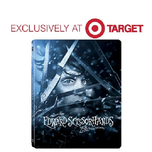 Blu Ray Edward Scissorhands 25th Anniversary Edition Steelbook Blu Ray Target Exclusive