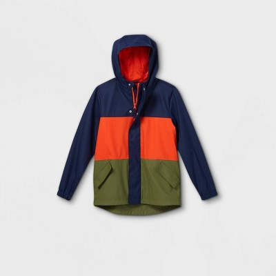 Boys' Solid Rain Jacket - Cat & Jack™