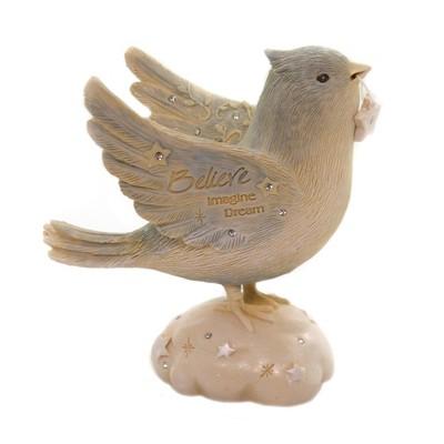 """Foundations 4.25"""" Believe Bird Imagine Believe  -  Decorative Figurines"""