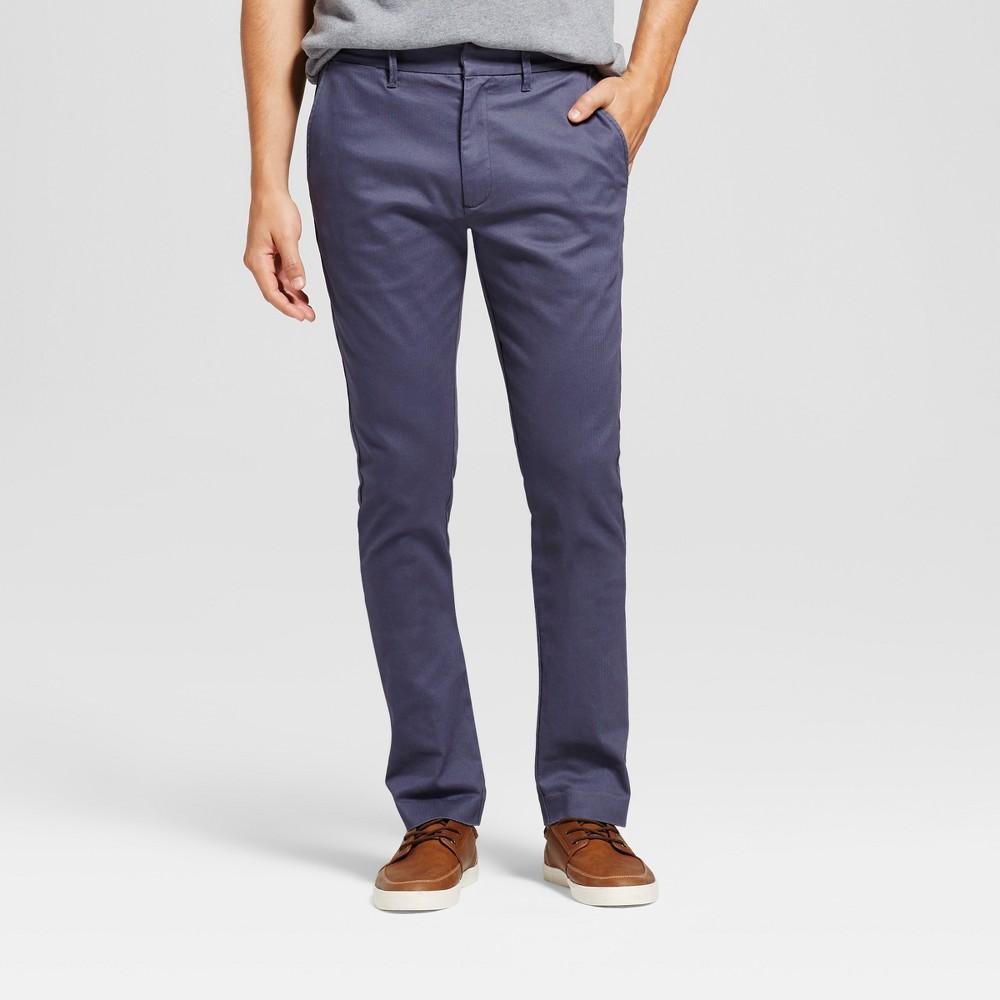 Men's Slim Fit Trouser Pants - Goodfellow & Co Navy (Blue) 30X32