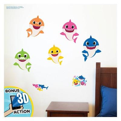 Baby Shark Wall Decal