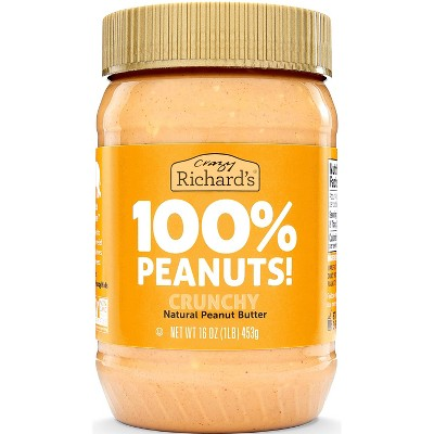 Crazy Richard's Crunchy Natural Peanut Butter