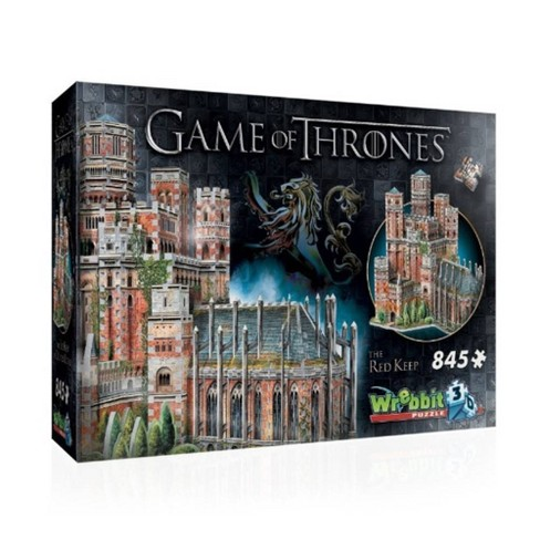 Wrebbit The Red Keep 3D Puzzle 845pc - image 1 of 4