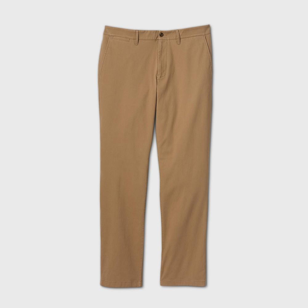 Men 39 S Big 38 Tall Straight Fit Chino Pants Goodfellow 38 Co 8482 Tan 50x34