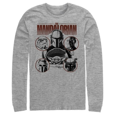 Men's Star Wars The Mandalorian Odds-on Favorite Long Sleeve Shirt