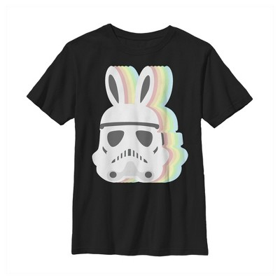 Boy's Star Wars Easter Stormtrooper Pastel Easter Ears T-Shirt