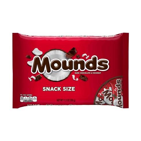 Mounds Dark Chocolate Snack Sized Dark Chocolate Bars - 11.3oz - image 1 of 5