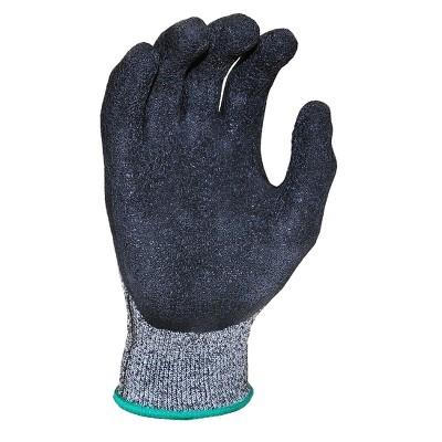 Cutshield Cut Resistant Work Gloves - Large - Black - G & F