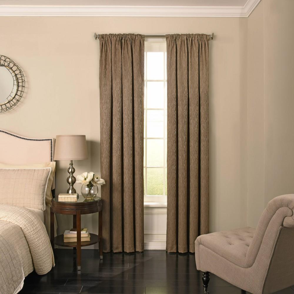 63 34 X52 34 Barrou Blackout Curtain Taupe Beautyrest