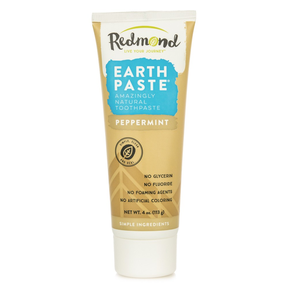 Image of Redmond Earthpaste Peppermint Natural Toothpaste - 4oz