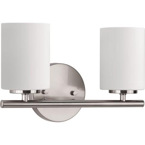 "Progress Lighting P2158 Replay 2 Light 13"" Wide Bathroom Vanity Light - image 1 of 4"