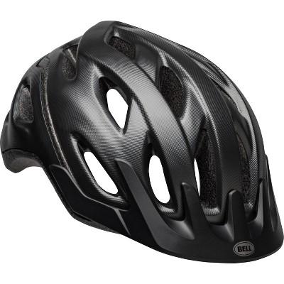 Bell Fortitude Adult Textured Bike Helmet with light - Dark Gray