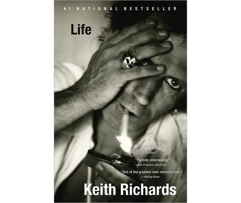 Life (Reprint) (Paperback) by Keith Richards - image 1 of 1