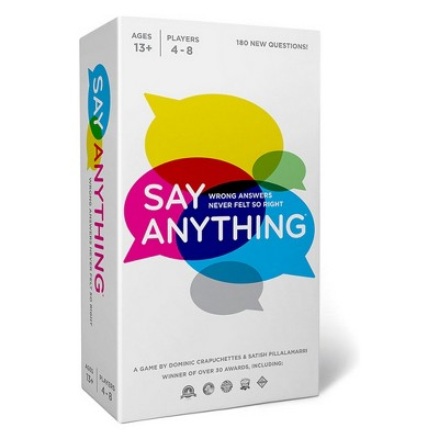 Say Anything 10th Anniversary Board Game