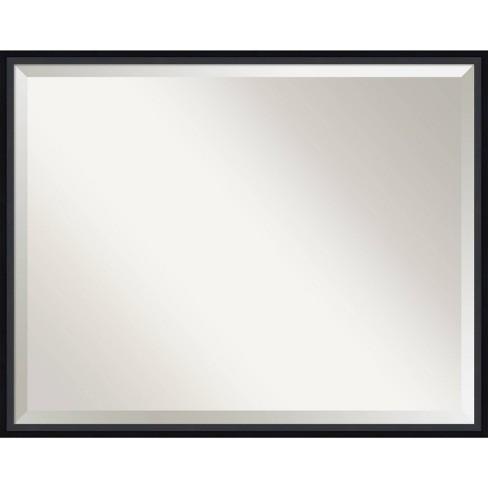 Lucie Framed Bathroom Vanity Wall Mirror Amanti Art Target