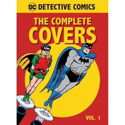 DC Comics: Detective Comics: The Complete Covers Vol. 1 (Mini Book) - by  Insight Editions (Hardcover) - image 1 of 1