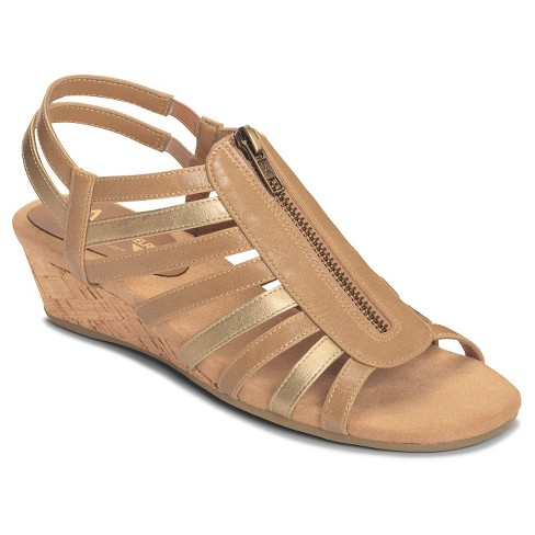 6943256351b8 Women s A2 By Aerosoles Yetaway Zip-Front Gladiator Sandals - 7   Target