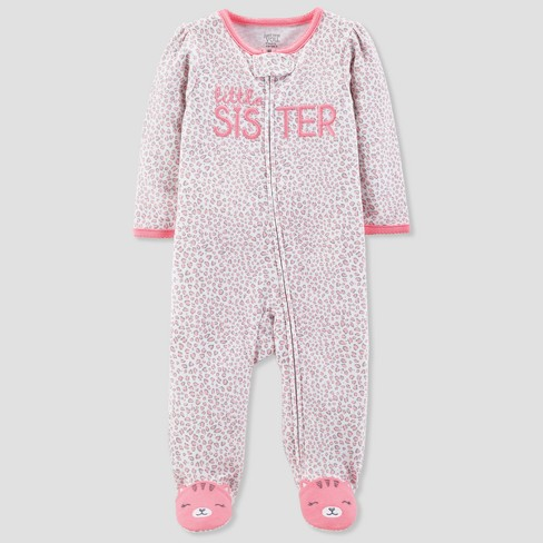 1b6c573cb575 Baby Girls  Little Sister Sleep N  Play - Just One You® made by carter s  Pink