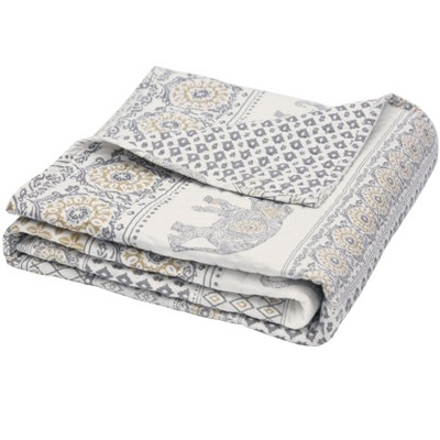 Nacala Bohemian  Quilted Throw - Levtex Home