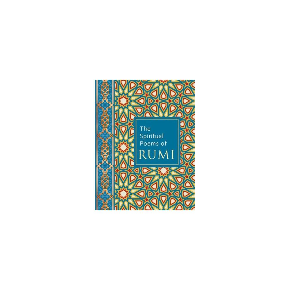Spiritual Poems of Rumi - (Hardcover)