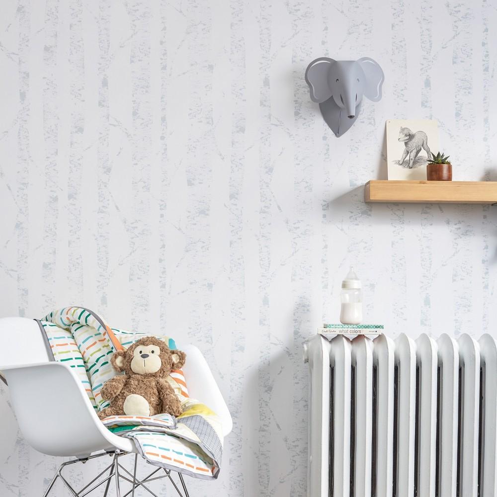 Peel & Stick Wallpaper Birch White - Cloud Island