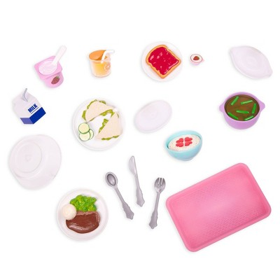 """Our Generation Play Food Set for 18"""" Dolls - Feel Better Munchies"""