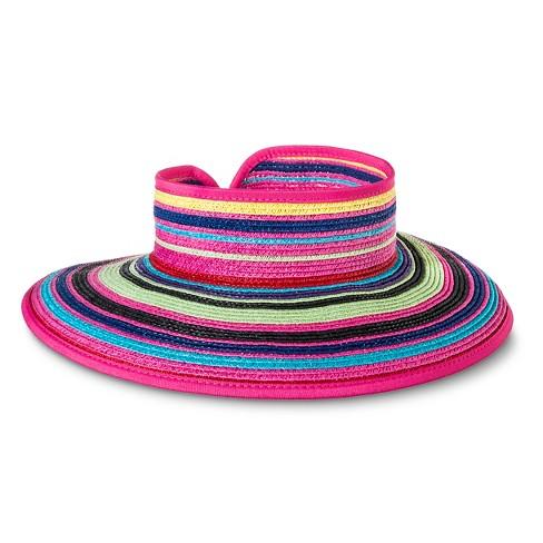 Women s Roll Up Visor Wrap Hat - Merona™   Target db8897056af